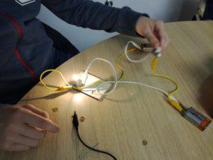 elektrika za šole, delavnice, modra delavnica