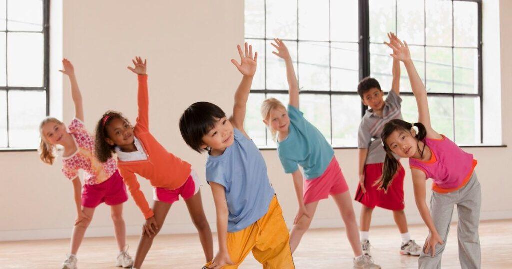 telovadba za otroke